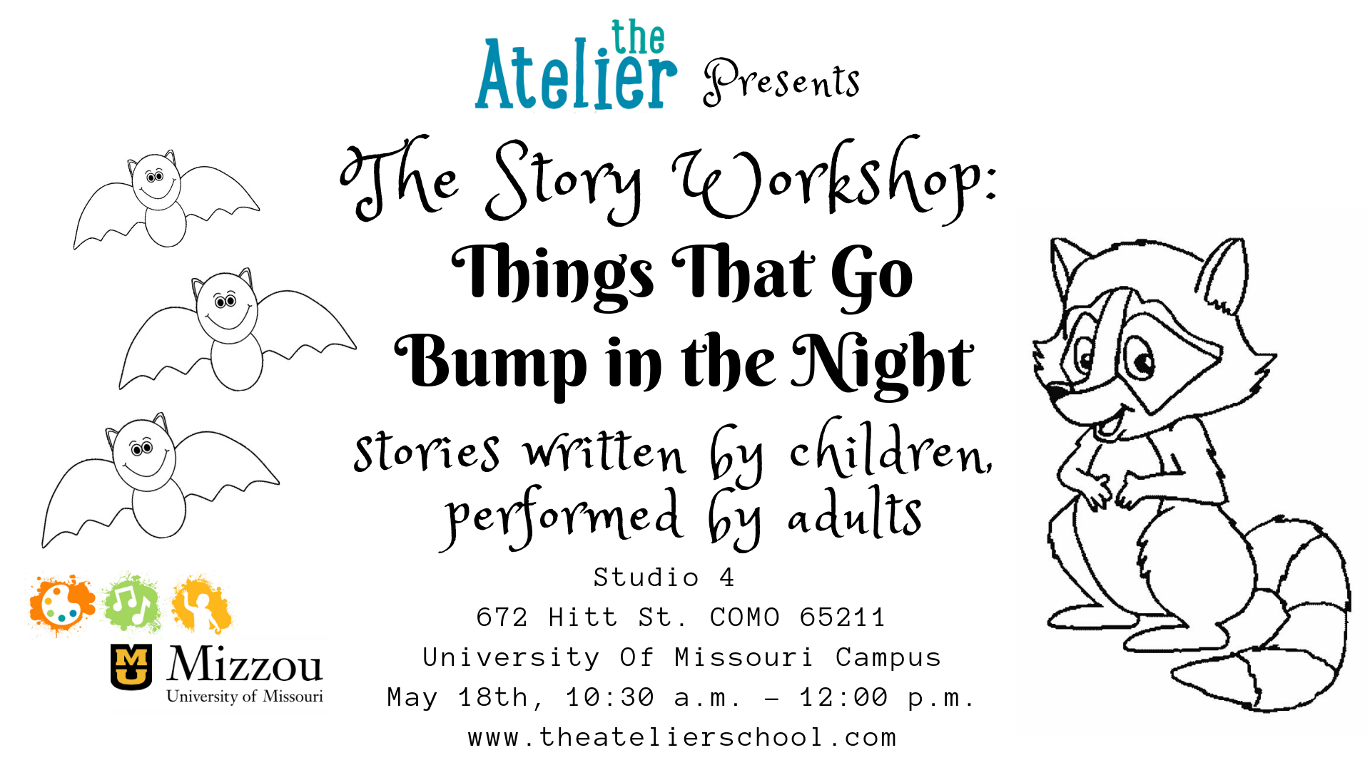 Story Workshop: Things That Go Bump in the Night